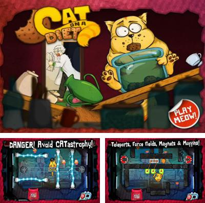 In addition to the game Cupcake mania: Christmas for iPhone, iPad or iPod, you can also download Cat on a Diet for free.