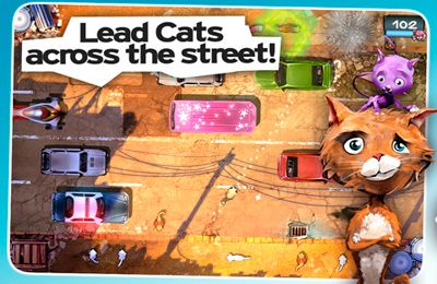 Download Cat run iPhone free game.