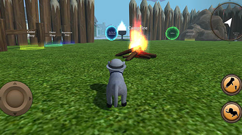 iPhone、iPad または iPod 用Cat simulator: Animal lifeゲームのスクリーンショット。