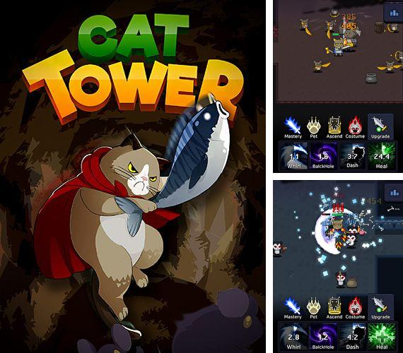 En plus du jeu Munitions des cochons pour iPhone, iPad ou iPod, vous pouvez aussi télécharger gratuitement Tour de chats: RPG simple, Cat tower: Idle RPG.