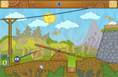 Capturas de pantalla del juego Catch The Candy para iPhone, iPad o iPod.
