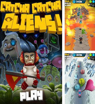In addition to the game Tetris for iPad for iPhone, iPad or iPod, you can also download Catcha Catcha Aliens! for free.