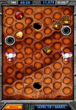 Capturas de pantalla del juego Catcha Mouse 3 para iPhone, iPad o iPod.