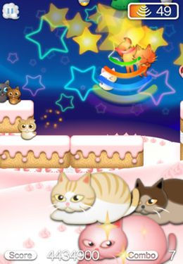 Screenshots of the Cats away game for iPhone, iPad or iPod.