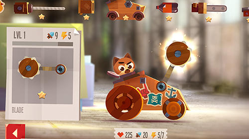 Écrans du jeu Cats: Crash arena turbo stars pour iPhone, iPad ou iPod.