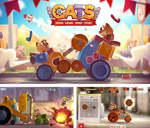 除了 iPhone、iPad 或 iPod 游戏,您还可以免费下载Cats: Crash arena turbo stars, 。