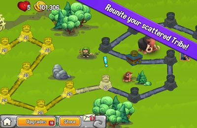 Screenshots of the Cavemania game for iPhone, iPad or iPod.