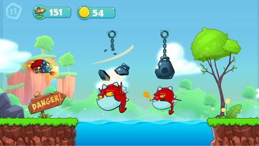 Screenshots of the Chain breaker game for iPhone, iPad or iPod.