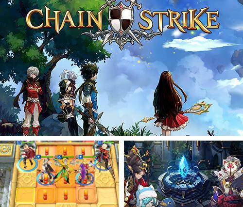 In addition to the game Ninja up! for iPhone, iPad or iPod, you can also download Chain strike for free.