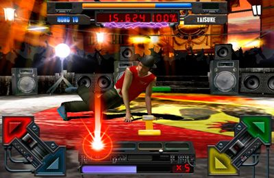 Screenshots vom Spiel Champion Red Bull BC One für iPhone, iPad oder iPod.