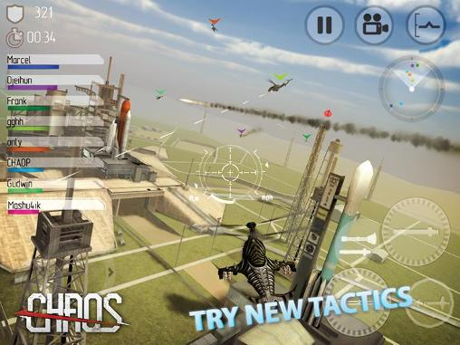 Screenshots do jogo Chaos: Combat copters para iPhone, iPad ou iPod.