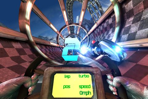 Écrans du jeu Chaos ride: Episode 2 pour iPhone, iPad ou iPod.