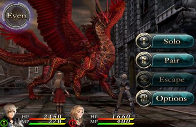 Download CHAOS RINGS II iPhone free game.