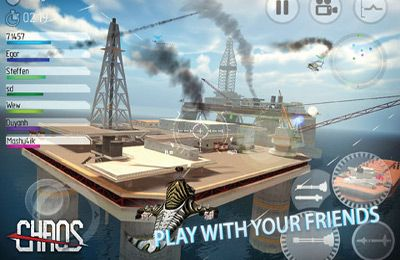 Download C.H.A.O.S Tournament iPhone free game.