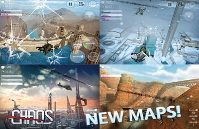 Screenshots vom Spiel C.H.A.O.S Tournament für iPhone, iPad oder iPod.