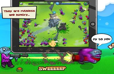 Download Charge The Zombie iPhone free game.