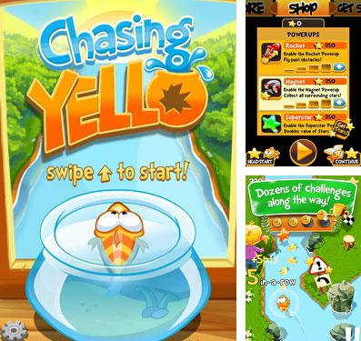 In addition to the game Cosmic express for iPhone, iPad or iPod, you can also download Chasing Yello for free.