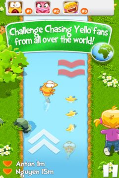 Descarga gratuita de Chasing Yello Friends para iPhone, iPad y iPod.