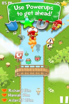 Capturas de pantalla del juego Chasing Yello Friends para iPhone, iPad o iPod.