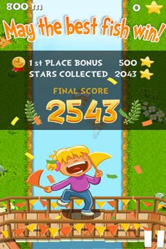 Écrans du jeu Chasing Yello Friends pour iPhone, iPad ou iPod.