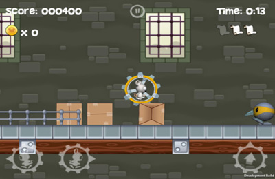 Capturas de pantalla del juego Cheezia: Gears of Fur para iPhone, iPad o iPod.