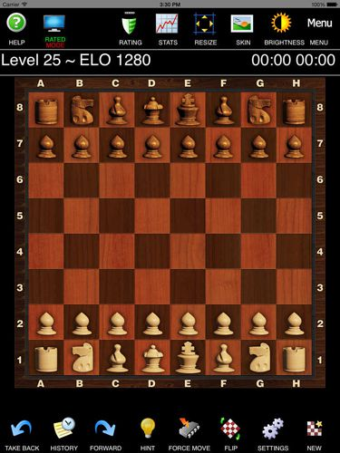 Capturas de pantalla del juego Chess pro para iPhone, iPad o iPod.