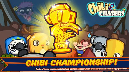 Screenshots of the Chibi chasers game for iPhone, iPad or iPod.