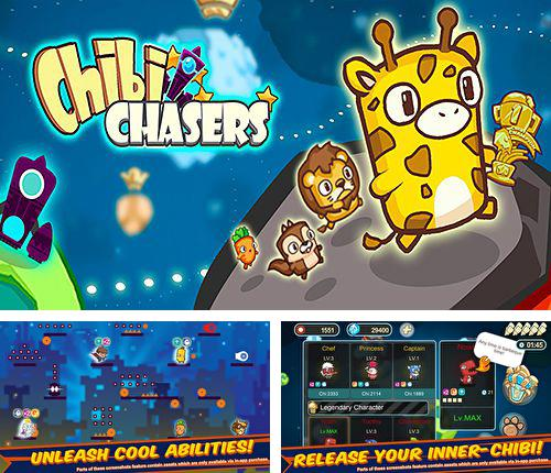 In addition to the game Top tank for iPhone, iPad or iPod, you can also download Chibi chasers for free.
