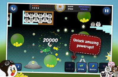 Screenshots of the Chicken Balls: Area game for iPhone, iPad or iPod.