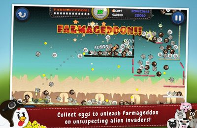 Capturas de pantalla del juego Chicken Balls: Area para iPhone, iPad o iPod.