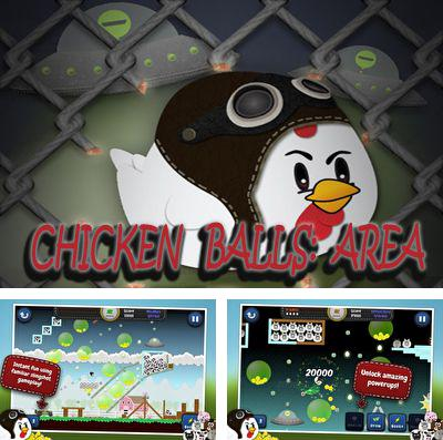 In addition to the game Person The History for iPhone, iPad or iPod, you can also download Chicken Balls: Area for free.