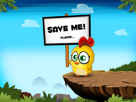 Capturas de pantalla del juego Chicken Boy para iPhone, iPad o iPod.