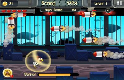 Capturas de pantalla del juego Chicken Break para iPhone, iPad o iPod.