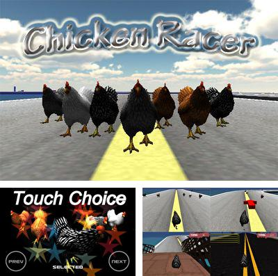 In addition to the game Furry friends for iPhone, iPad or iPod, you can also download Chicken Racer for free.