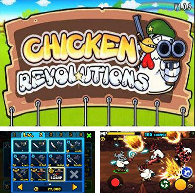 In addition to the game Pixel drifters for iPhone, iPad or iPod, you can also download Chicken Revolution : Warrior for free.