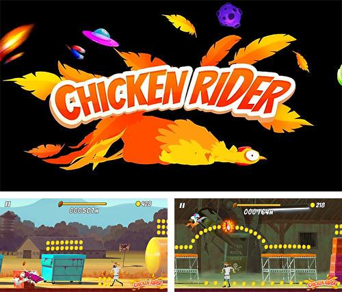 In addition to the game Creatures & Castles for iPhone, iPad or iPod, you can also download Chicken rider for free.