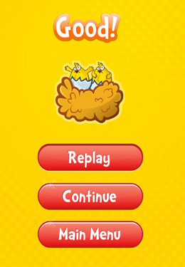 Screenshots of the Chicken Story Adventure game for iPhone, iPad or iPod.