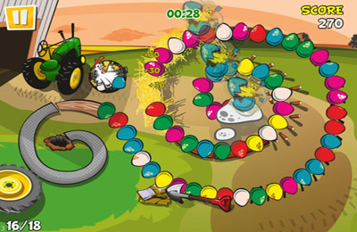 Download Chicken Zooma iPhone free game.