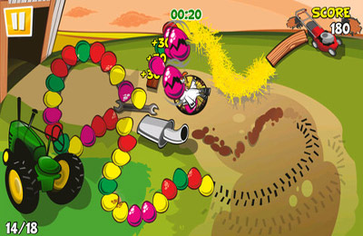 Descarga gratuita de Chicken Zooma para iPhone, iPad y iPod.