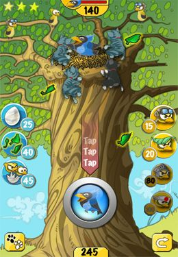Screenshots of the Chicks vs. Kittens game for iPhone, iPad or iPod.