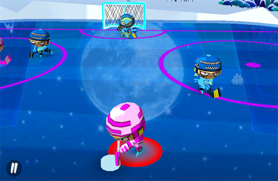 Screenshots of the Chop Chop Hockey game for iPhone, iPad or iPod.