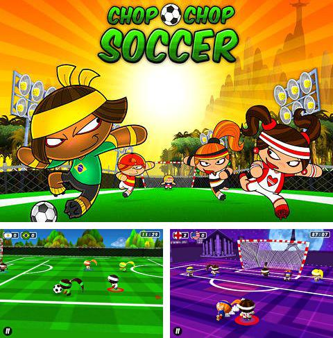 In addition to the game World Of Tank War for iPhone, iPad or iPod, you can also download Chop chop: Soccer for free.