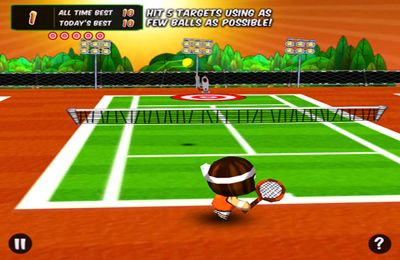 Free Chop Chop Tennis download for iPhone, iPad and iPod.
