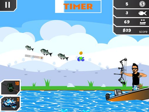Download Chris Brackett's kamikaze karp iPhone free game.