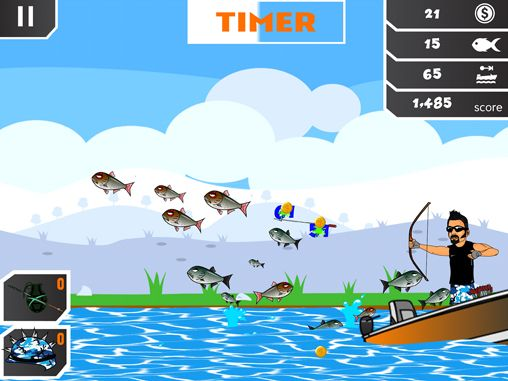 Free Chris Brackett's kamikaze karp download for iPhone, iPad and iPod.