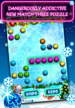Download Christmas B'uzz'le iPhone free game.