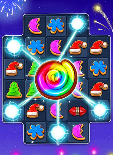 Screenshots do jogo Christmas cookie para iPhone, iPad ou iPod.