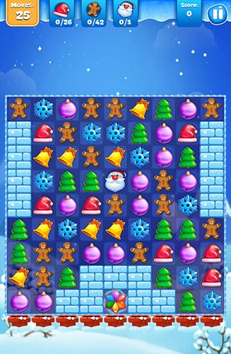 Descarga gratuita de Christmas sweeper 3 para iPhone, iPad y iPod.