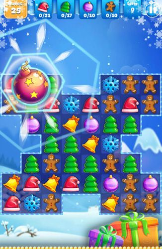 Capturas de pantalla del juego Christmas sweeper 3 para iPhone, iPad o iPod.