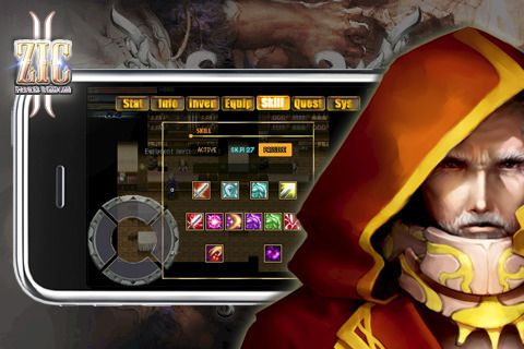 Screenshots vom Spiel Chronicle of ZIC: Knight Edition für iPhone, iPad oder iPod.